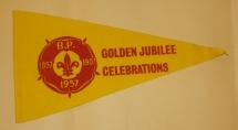 Scoutvimpel. Golden Jubilee Celebrations.