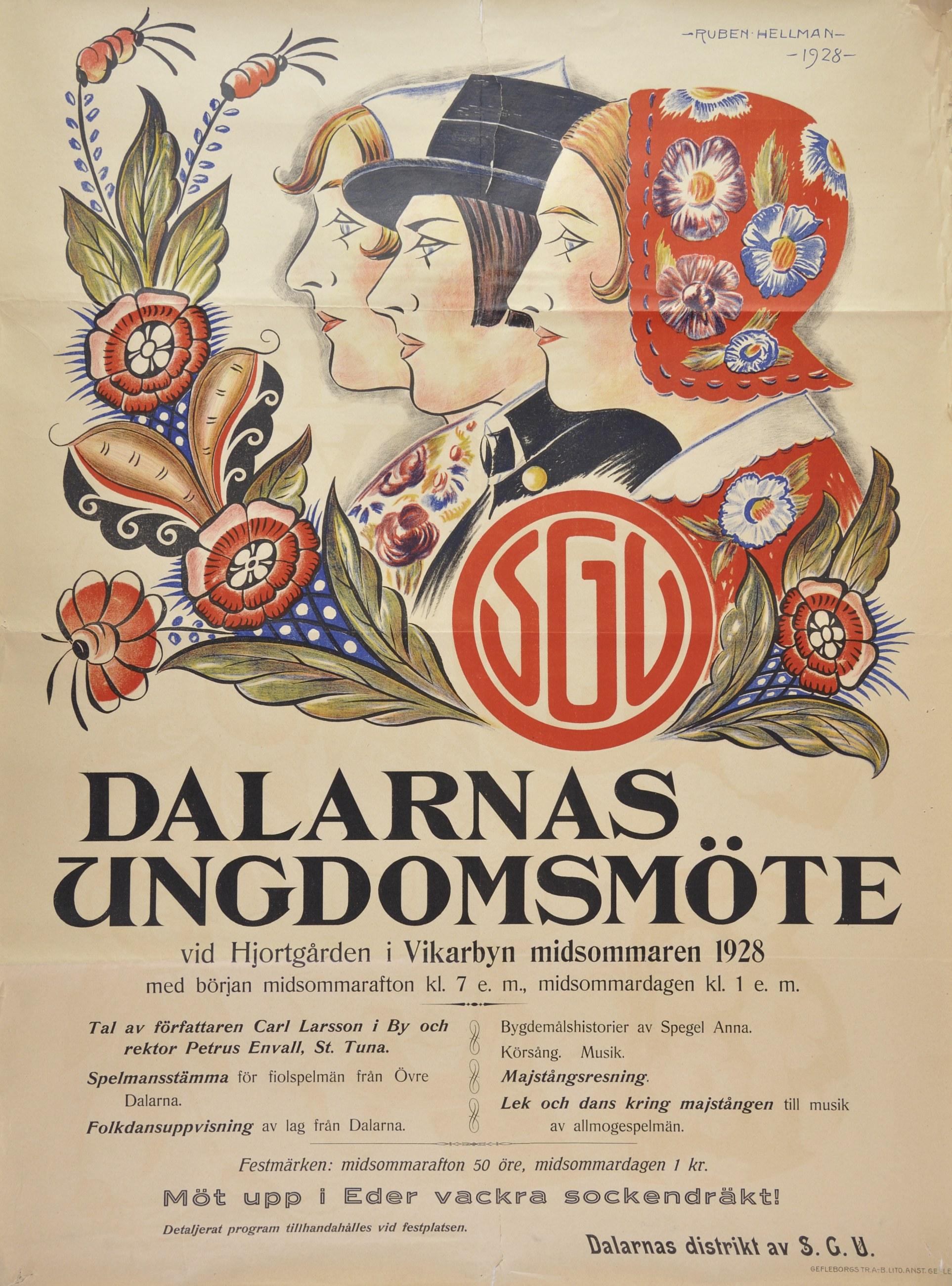 SGU mötes affisch