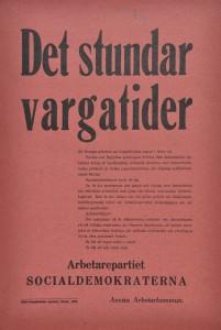 Valaffisch - Socialdemokraterna