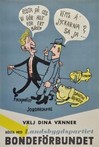 Valaffisch Bondeförbundet om Folkpartiet