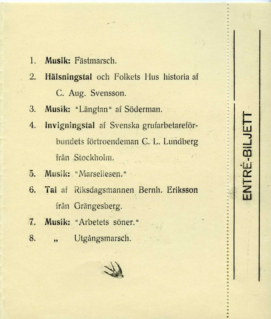 Programmet innehåller musik och tal.