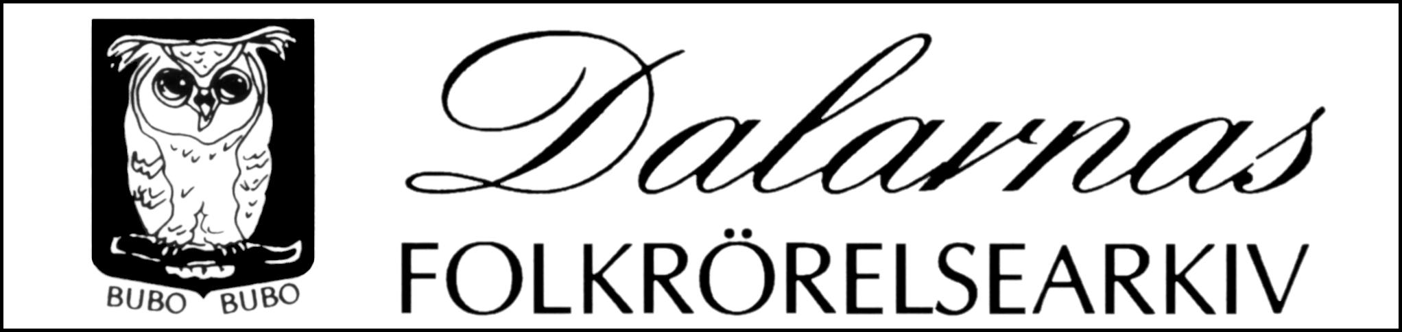 Dalarnas Folkrörelsearkivs logga